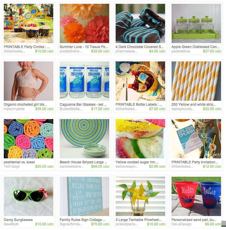 Diliberto Photo And Design Pool Party Printable Etsy Treasury