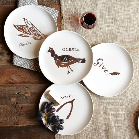 Diliberto Photo And Design Thanksgiving Decor Roundup- West Elm Plates
