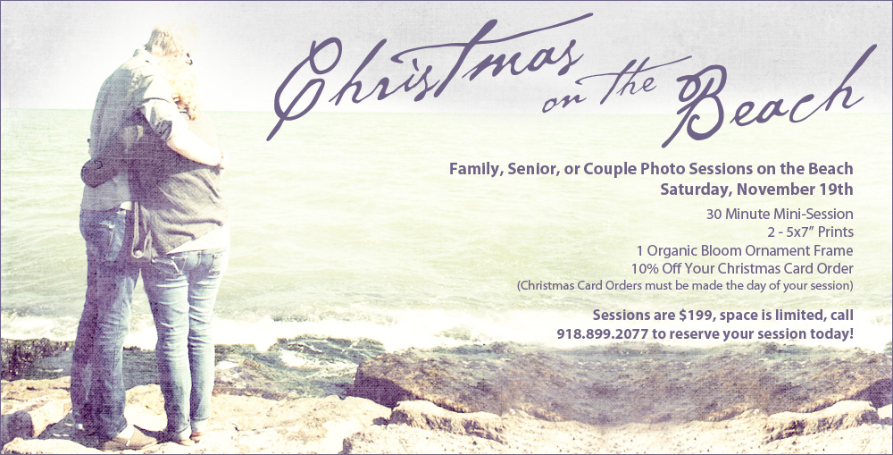 Diliberto Photo And Design Galveston Beach Shoot Christmas Cards and Photos
