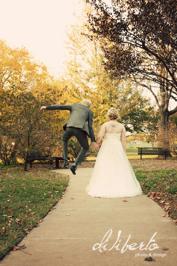 Tulsa OK wedding photographer Bride and Groom