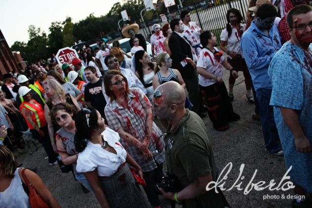Zombie Walk Houston Diliberto Photo and design