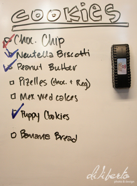 The Cookie List
