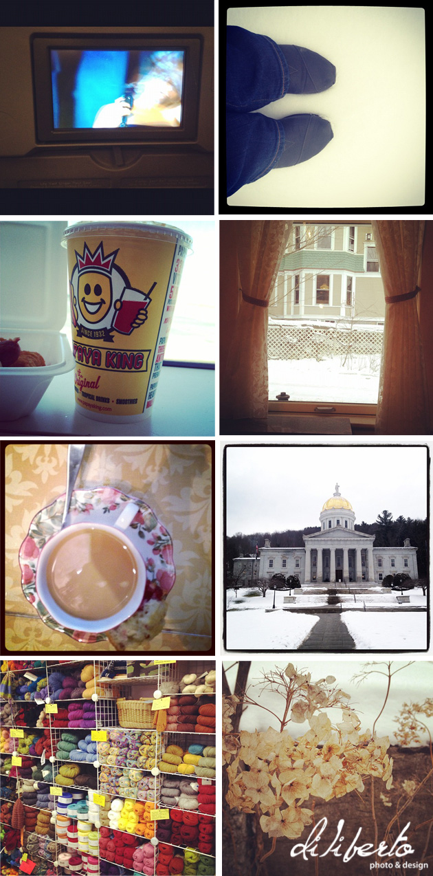 Vermont in instagrams