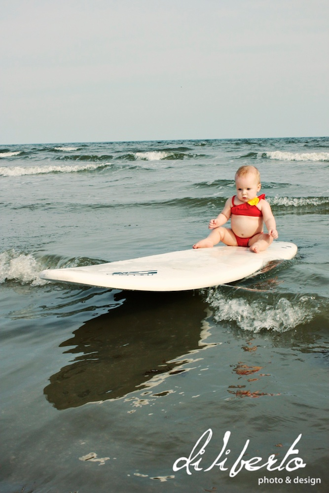Surfing Baby Photographer