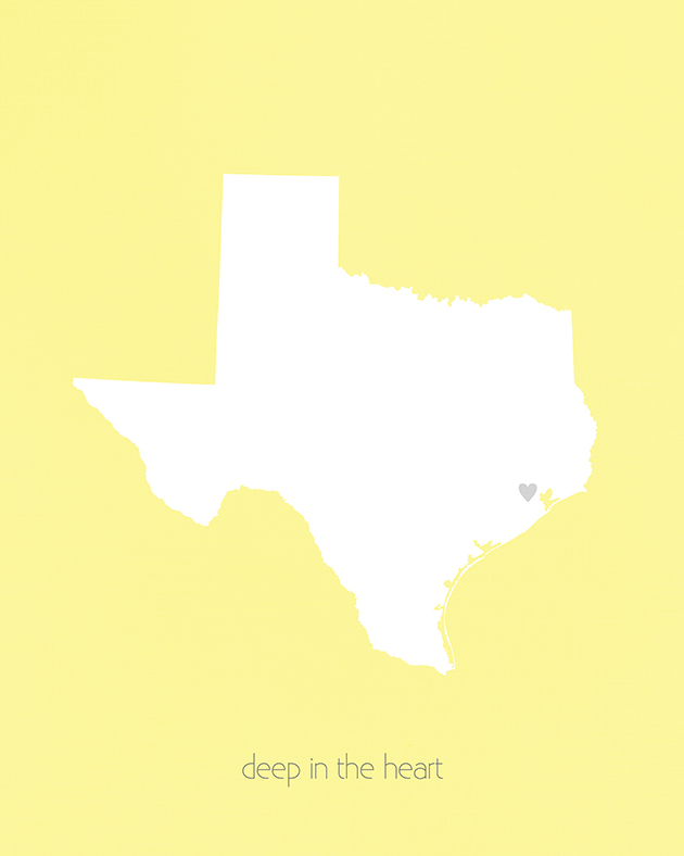 Deep in the Heart of Texas Free Printable
