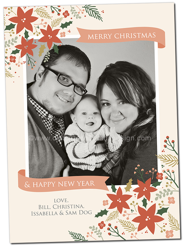 Custom Photo Christmas Card