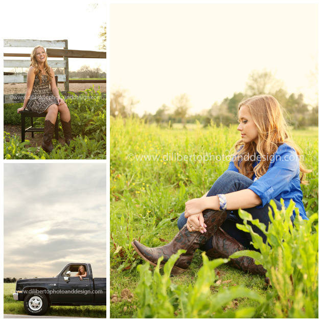 Senior Photographer Spring Texas Rustic Rural