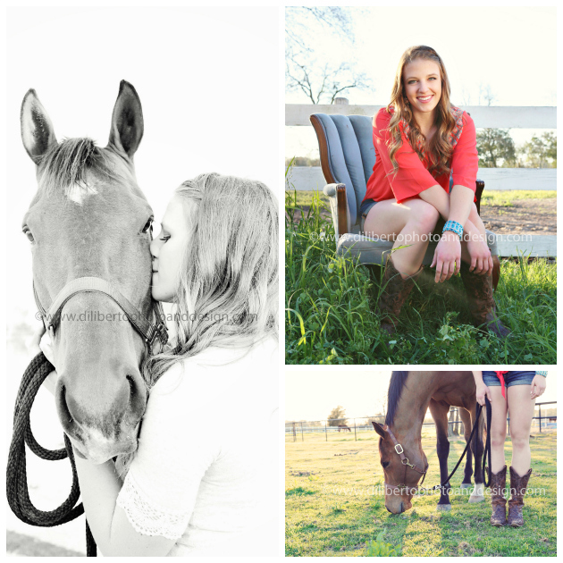 Spring, TX Senior Photographer, Jenna and Horse