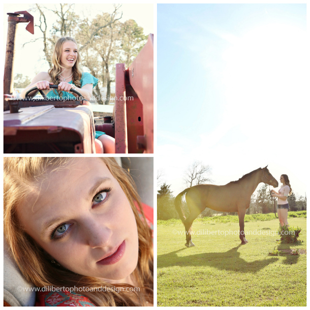 Tomball, TX Senior Photographer, Jenna and Horse
