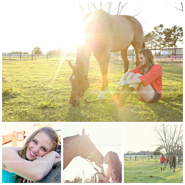 Spring, TX Senior Photo, Jenna and Horse