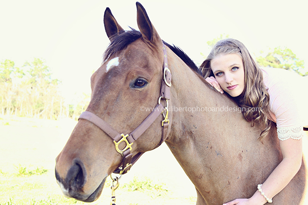 Tomball, TX Senior Photo, Jenna and Horse
