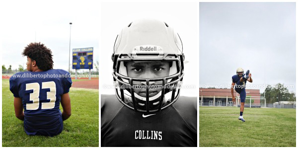 DilibertoPhoto&Design-Senior Photography-Joe Football Spring TX