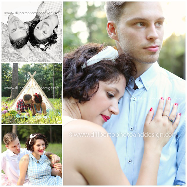 Wooded Engagement Photography, Spring, TX