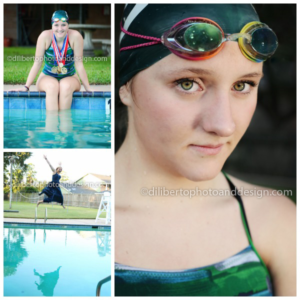 Senior Swimmer Photography