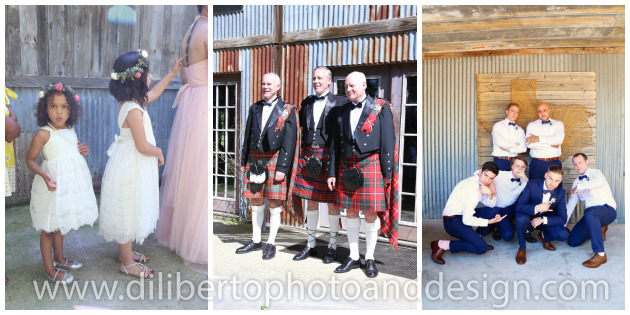 Wedding Photographer Diliberto Photo & Design Kilts