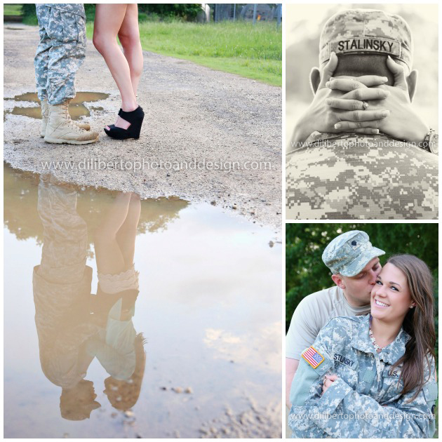 Military Engagement photos, Spring, TX